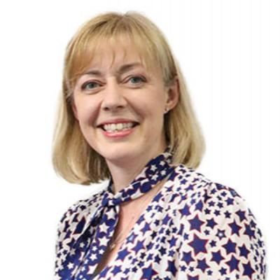 Picture of Heidi Travis, CEO of Sue Ryder