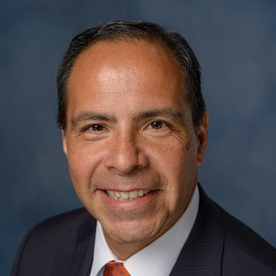 Picture of Ed Jimenez, CEO of UF Health