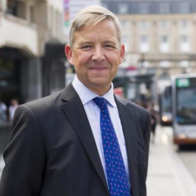 Picture of Brieuc de Meeûs, CEO of STIB MIVB