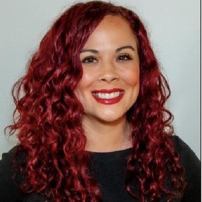 Headshot of Natalie Ruiz, CEO of FULL Creative
