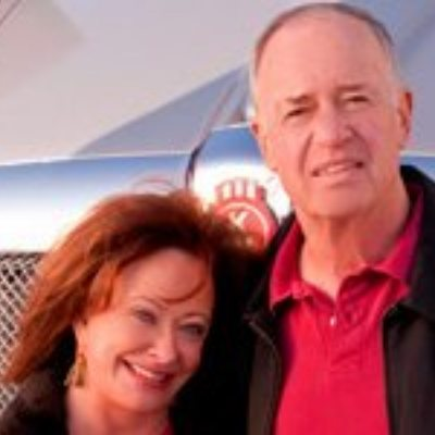 Picture of Johnny and Trudy Jacobson, CEO of TransAm Trucking