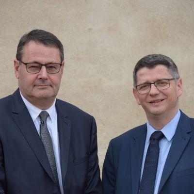 Portrait de Pascal Viguier - Président / Damien Bourgarel - DG, PDG chez LIMAGRAIN