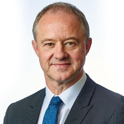 Picture of Andrew Haines, CEO of Network Rail