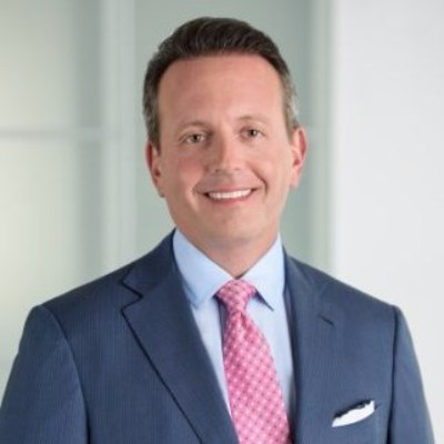 Picture of Brent Saunders, CEO of Allergan
