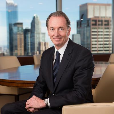 Headshot of James Gorman , CEO of Morgan Stanley