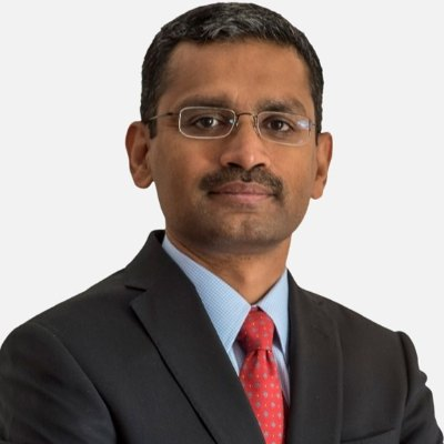 Picture of Rajesh Gopinathan, CEO of Tata Consultancy Services (TCS)