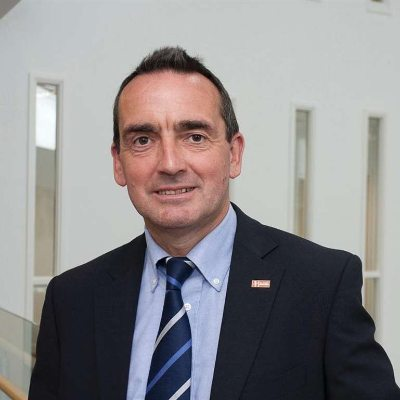 Picture of Mark Sesnan, CEO of GLL