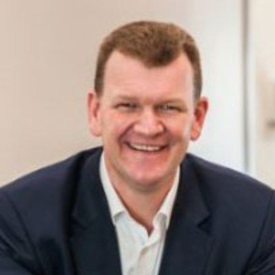 Picture of Hugo Mahoney, CEO of Brakes Group