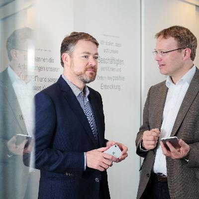 Picture of Sebastian Lazay und Christoph Sembritzki, CEO of Extra Team Kita