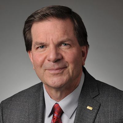 Picture of Terry L. Miller, CEO of SFM Mutual Insurance Company