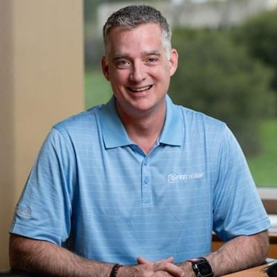 Picture of Tony Ueber, CEO of 24 Hour Fitness