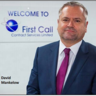 Picture of David Mankelow, CEO of First Call Contract Services Limited