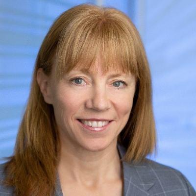 Headshot of Sarah Clark, CEO of Fraser River Pile & Dredge (GP)