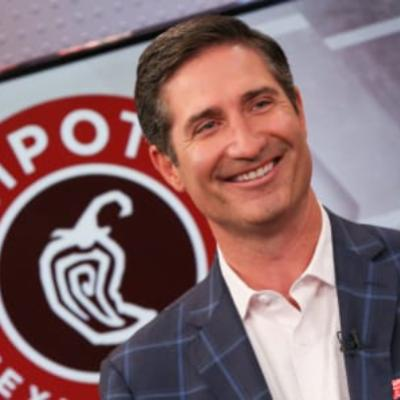 Picture of Brian Niccol, CEO of Chipotle Mexican Grill