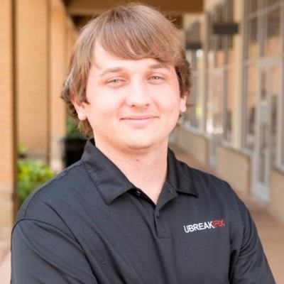 Picture of Justin Wetherill, CEO of uBreakiFix
