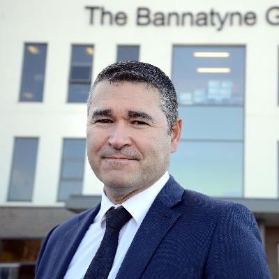 Picture of Justin Musgrove, CEO of Bannatyne