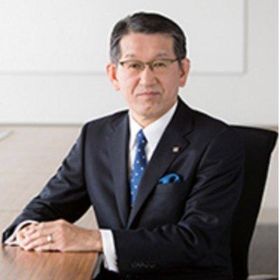 Picture of Yoshinori Yamashita, CEO of Ricoh