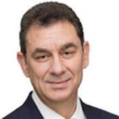 Headshot of ALBERT BOURLA, DVM, PH.D., CEO of Pfizer