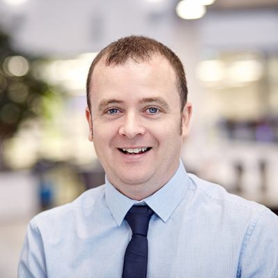 Picture of Ciaran Harvey, CEO of Pramerica Systems Ireland