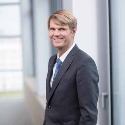 Portrait de Frédéric Gardès, PDG chez COLAS