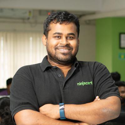 Picture of Thirukumaran Nagarajan, CEO of Ninjacart