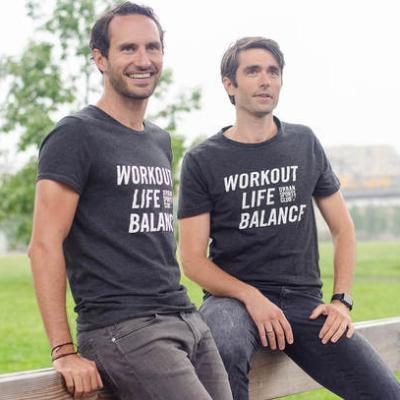 Picture of Benjamin Roth, Moritz Kreppel, CEO of Urban Sports Club
