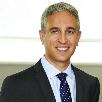 Headshot of M. Frédéric Abergel, CEO of CIUSSS du Nord-de-l'Île-de-Montréal