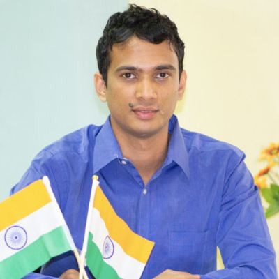 Picture of Aravind Sanka, CEO of Rapido Bike Taxi