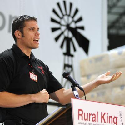 Picture of Alex Melvin, CEO of Rural King
