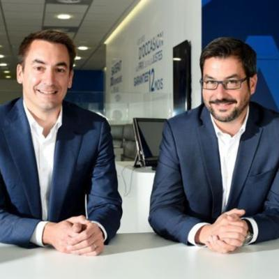 Picture of Guillaume Paoli et Nicolas Chartier, CEO of AramisAuto.com