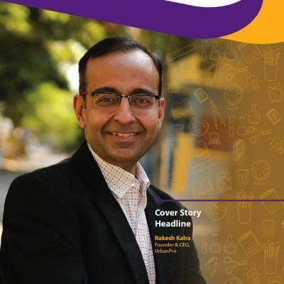 Headshot of Rakesh Kalra - CEO, CEO of URBANPRO