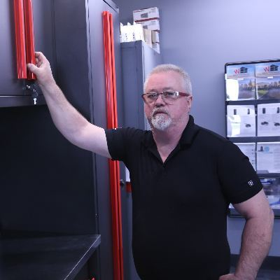 Headshot of Gerard Young, CEO of Waterloo Garage Doors Inc