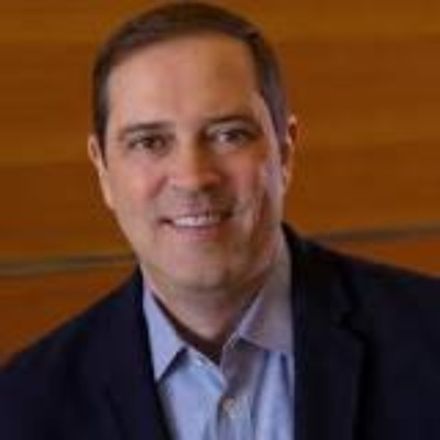 Picture of Chuck Robbins, CEO of Cisco