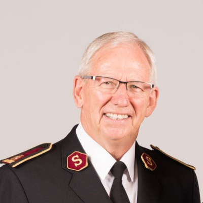 Picture of Brian Peddle, CEO of The Salvation Army