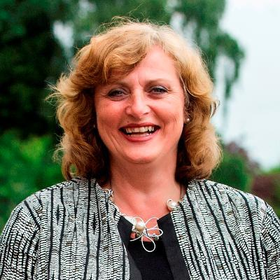 Picture of Sarah Boden, CEO of Housing Plus Group