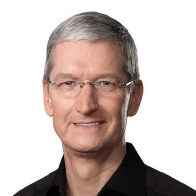 Picture of Tim Cook, CEO of Apple