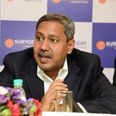 Picture of Baskar Babu Ramachandran, CEO of Suryoday Small Finance Bank Ltd