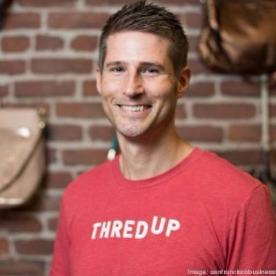 Picture of James Reinhart, CEO of thredUP Inc