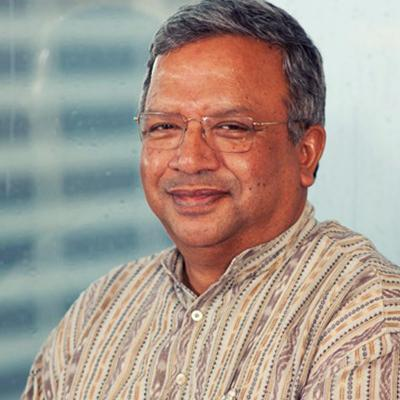 Headshot of Samit Ghosh, CEO of Ujjivan small finance bank