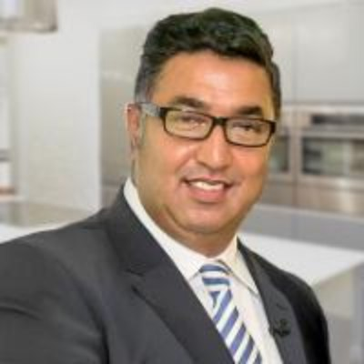 Picture of Toff Malik, CEO of Wren Kitchens