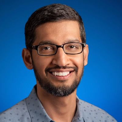 Picture of Sundar Pichai, CEO of Google