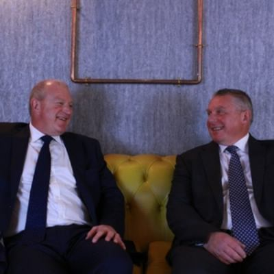 Picture of Dominic Wade and Philip Macdonald, CEO of Wade Macdonald