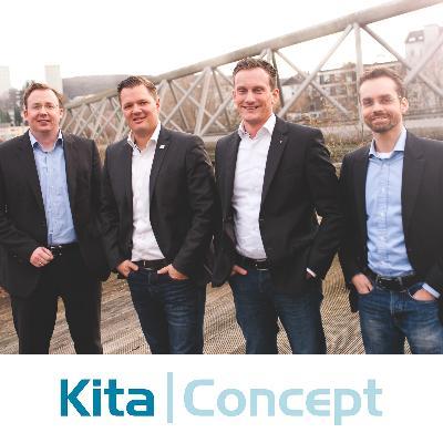 Picture of O.Schweer, D. Brabender, F. Reinartz, T. Seidel, CEO of Kita Concept GmbH