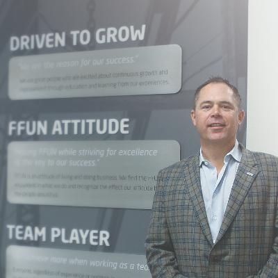 Picture of Mark Loeppky, CEO of FFUN Motor Group