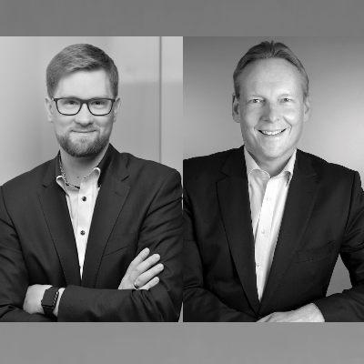 Picture of Daniel Thoben & Dirk Eiermann, CEO of 4U @work GmbH