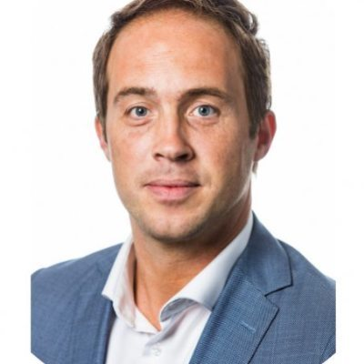 Picture of Daan Dijkhuizen, CEO of Topicus