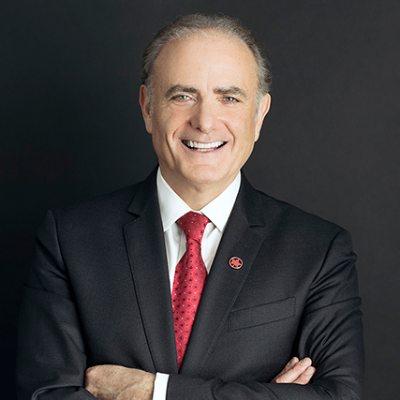 Picture of Calin Rovinescu, CEO of Air Canada