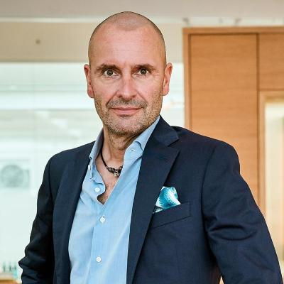 Picture of Robert Buchbauer, CEO of Swarovski