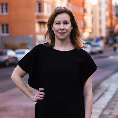 Picture of Maria Andersson, CEO of Hemfrid