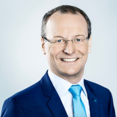 Picture of Dr.-Ing. Michael Fübi, CEO of TÜV Rheinland Group